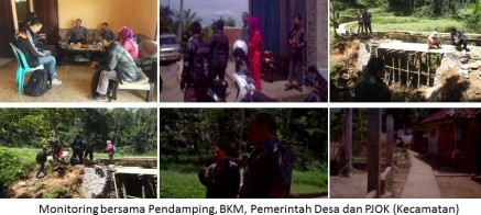 Monitoring bersama Desa, PJOK